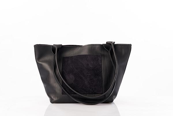 sac noir en cuir
