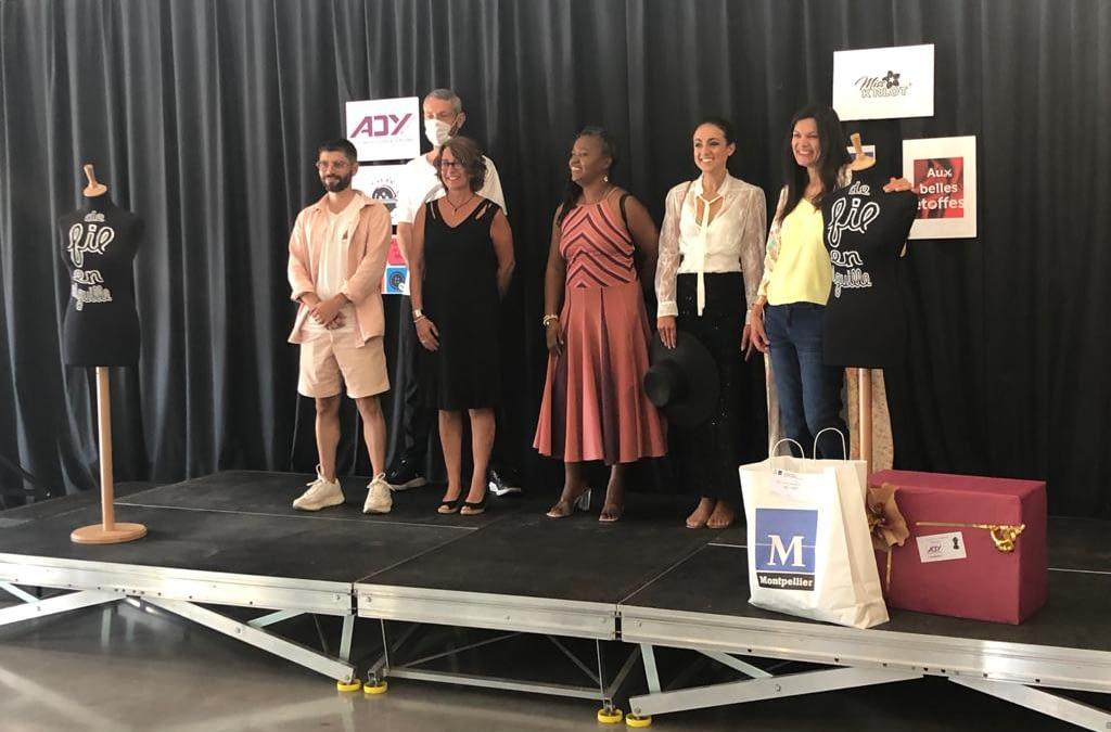 Remise des prix du défilé-concours de créateurs de mode