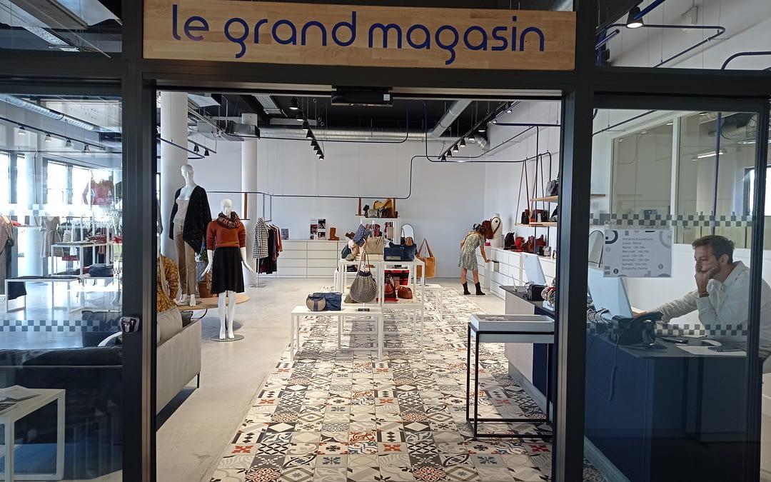 Inauguration du Grand Magasin des Nouvelles Grisettes