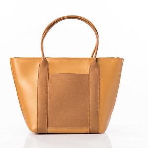sac or en simili cuir